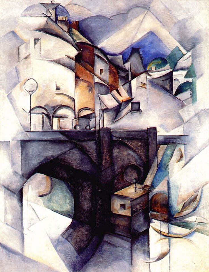 Экстер А.А. «Мост. Севр» Alexandra Ekster was a foremost figure in early Russian avant-garde art. She came into contact with Cubists and Futurists.