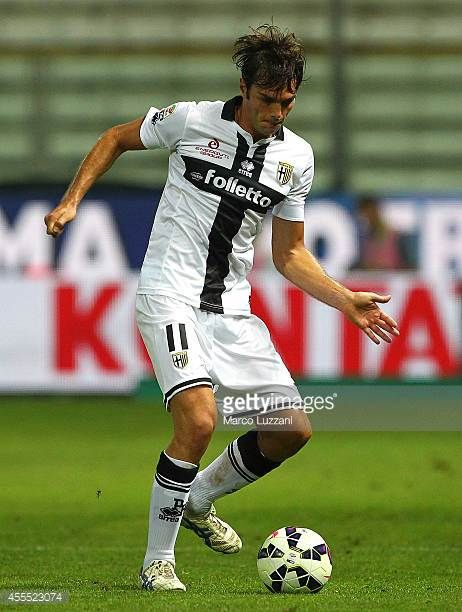 Paolo De Ceglie of Parma FC in action during the Serie A match between Parma FC and AC Milan at Stadio Ennio Tardini on September 14 2014 in Parma...