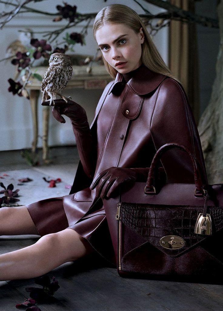 Cara Delevingne by Tim Walker for Mulberry
