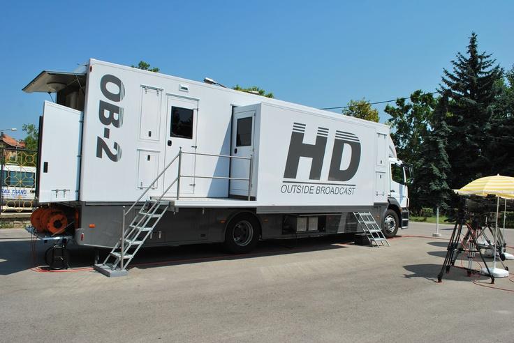 Full HD OB Van (OB2) - Liga TV, Hungary
