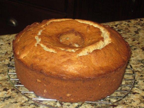 banana pound cake recipe (you go girl)