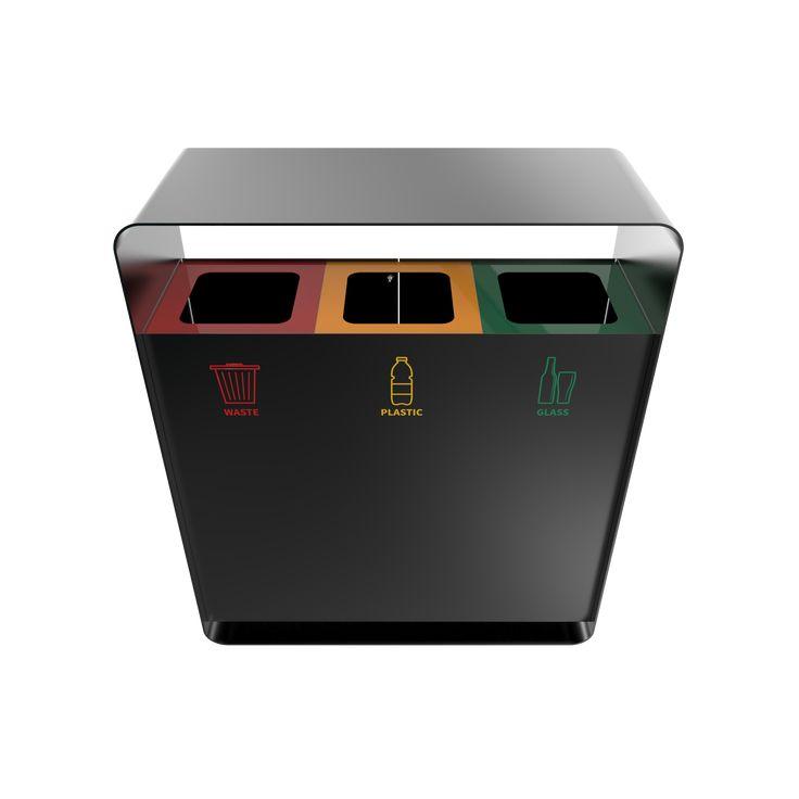 ARIZARO PC - Attractive design waste bins