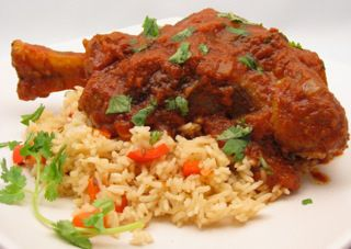 Braised Lamb Shanks Recipe with Indian Spices and Basmati Rice Pilaf Paired with Tilia Malbec, Argentina  https://www.nataliemaclean.com/blog/braised-lamb-shanks-recipe-with-indian-spices-and-basmati-rice-pilaf-paired-with-tilia-malbec-argentina/ #wine #winetaste #wineglass #wine101 #wine911 #winebottle #wineexpert #winedrinker #ilovewine #wineallthetime #wineknowledge #wineinfo #learnaboutwine #drinkwine #winepairing #winepro #whatwinetobuy #winereview #buyingwine #winelady #readysetwine…