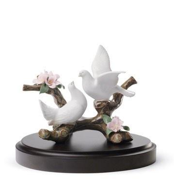 Noivos de porcelana Lladró   Noivinhas de Luxo