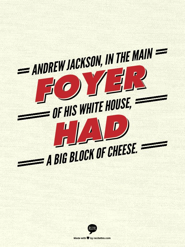 Mansion Foyer Quotes : Andrew jackson in the main foyer of his white house had