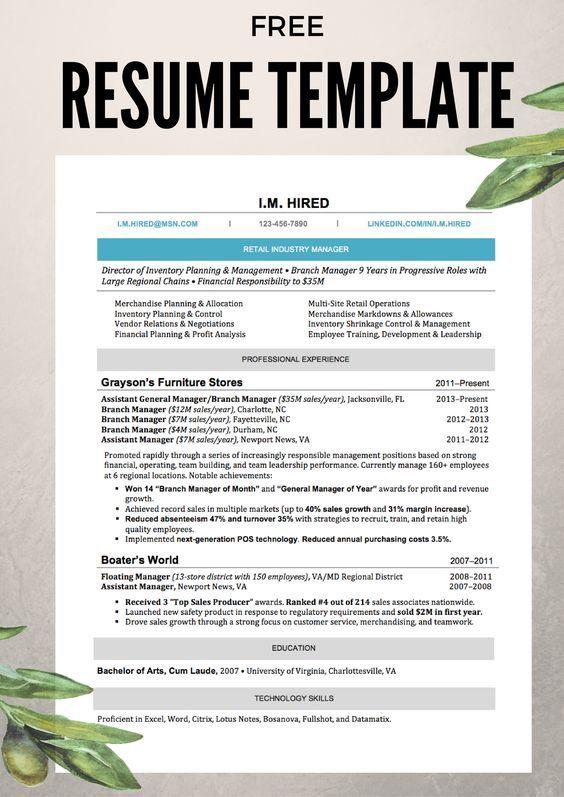 Best 20+ Resume helper ideas on Pinterest Resume ideas, Resume - free resume building