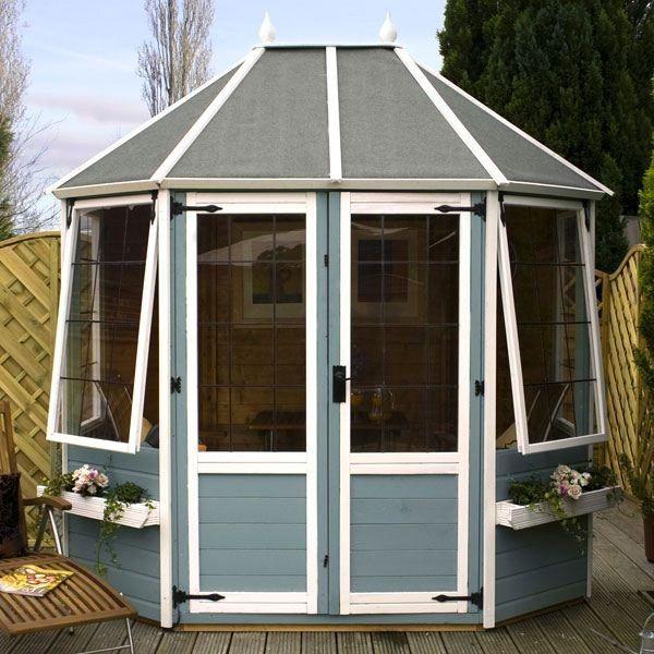 Avon 8' x 6' Darlington Octagonal Summer House  http://www.sheds.co.uk/summer-houses/avon-8-x-6-darlington-octagonal-summer-house.html