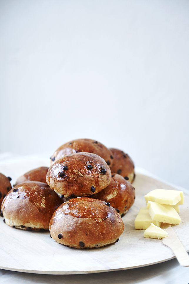 Teboller med chokolade fra Emmerys