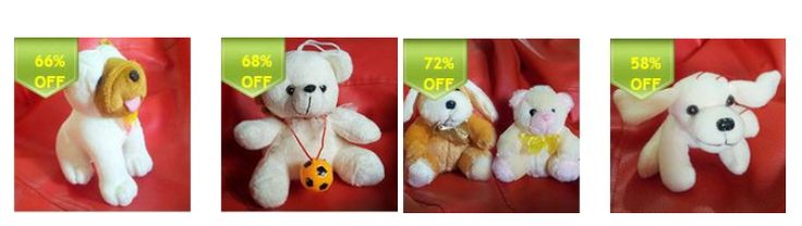 #SURPRISE YOUR #KIDS!!!  Get upto 72% off on #soft #toys. It's a clearance #sale. Starting price are Rs. 125. #FREE #SHIPPING!