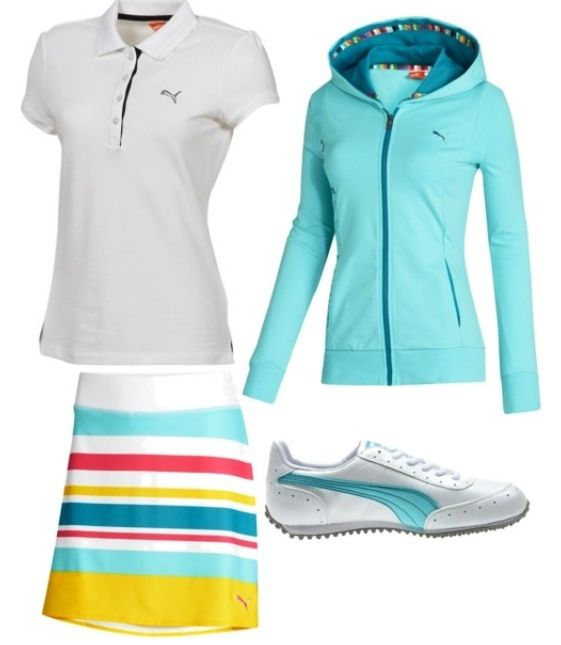 Super cute golf outfit! Plus its puma which makes it better :)