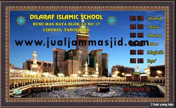 Jual Jam Sholat Masjid Jual Jam Digital Masjid Jam Dindin
