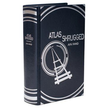 Check out this item at One Kings Lane! Leatherbound Ayn Rand Atlas Shrugged