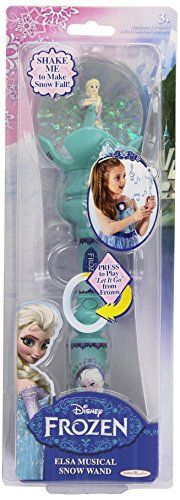 Disney – La Reine des Neiges – Baguette Musicale d'Elsa – «Let It Go» Version Anglaise: Descriptif produit: Un coup de baguette magique…