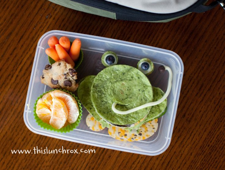 Frog Lunch Idea