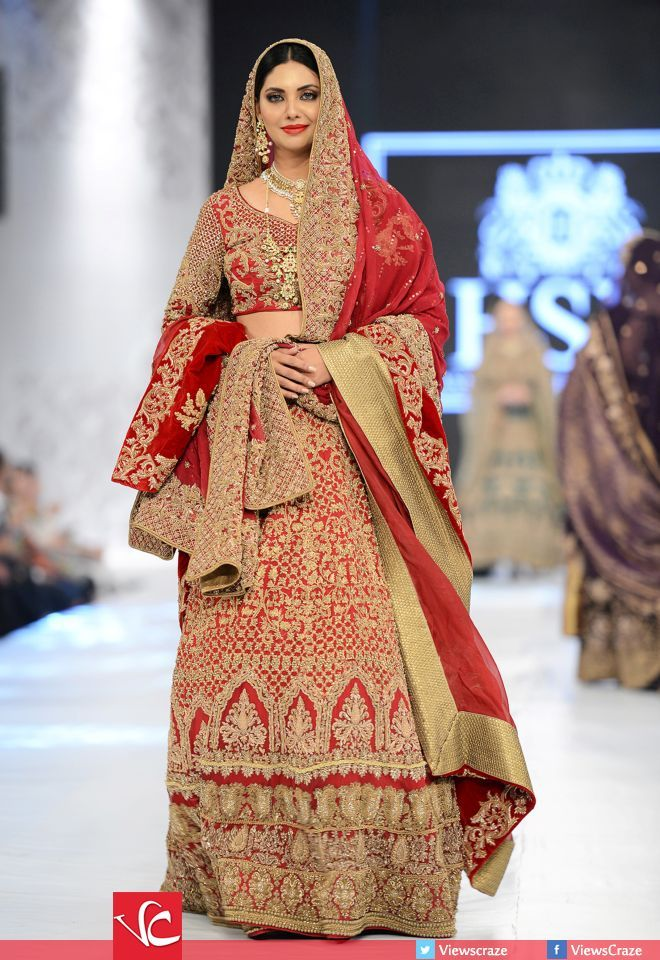 HSY's Collection at PFDC L'Oréal Paris Bridal Week 2016 Day 1