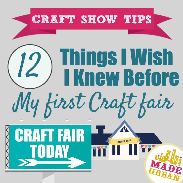 """Although the craft scene was much different when I first started than it is today, the following """"best practices"""" still apply. It took me many shows to master my display, sales pitch and products so hopefully this list will help get you to peak pe..."""