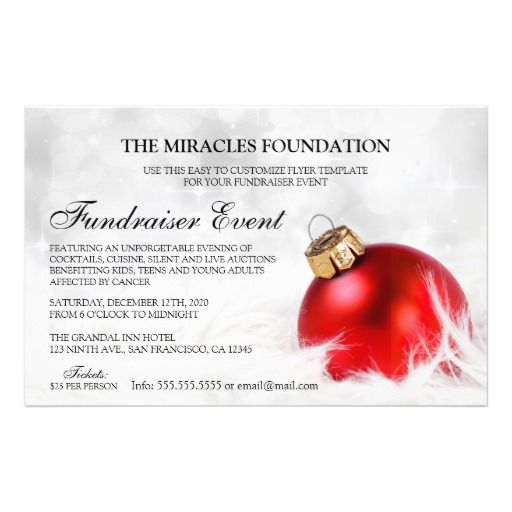 24 Best Fundraiser And Charity Fundraising Invitations And Flyers