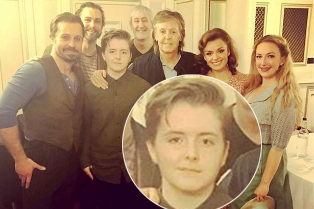 PAUL ON THE RUN: Paul McCartney's daughter Beatrice, 13, is the SPI...