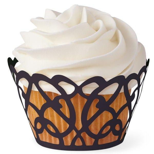 Avvolgi cupcake Fantasia nero   WILTON  PZ 18
