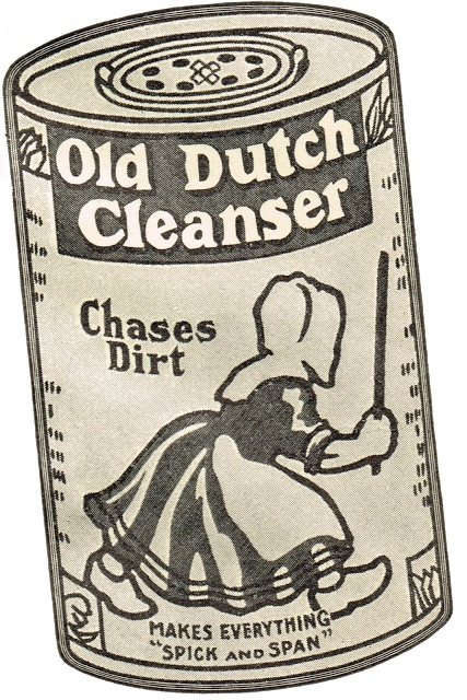 Knick of Time: Antique Graphics Wednesday - Early 1900s Cleaning Products Advertisements