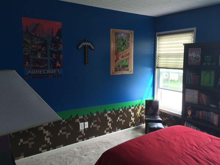Kids Bedroom Minecraft 22 best minecraft bedroom images on pinterest | minecraft ideas