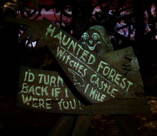 Haunted forest oz images galleries for Haunted woods ideas