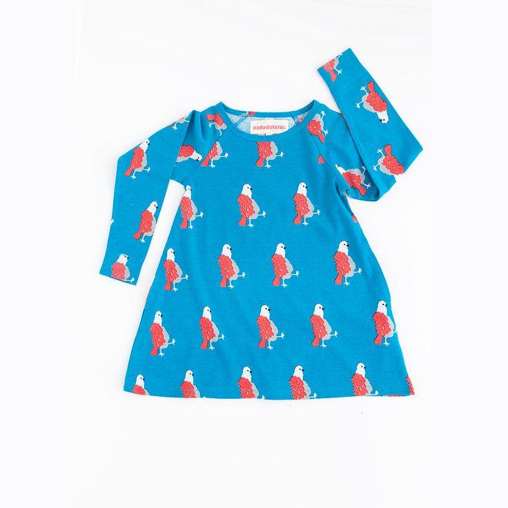 Nadadelazos kjole, pigeons