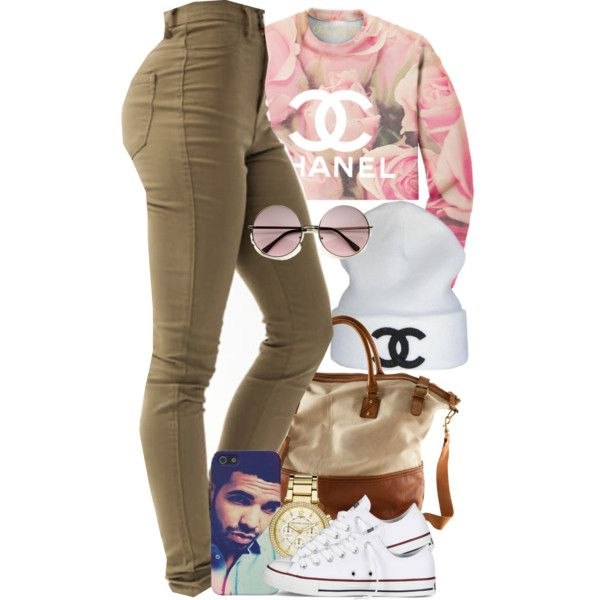 A fashion look from November 2013 featuring sweat shirts, high waisted jeans and white shoes. Browse and shop related looks.