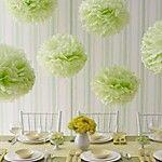 İnci Kağıdı Çevre-dostu Materyal Düğün Süslemeleri-15Piece / Set İlkbahar Yaz Sonbahar Kış Kişiselleştirilmiş 2017 - $6.99