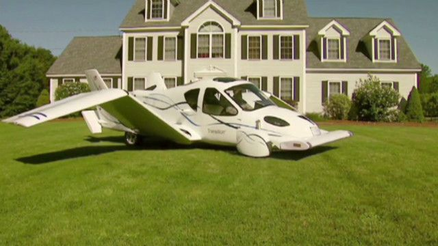 The Plane you can Drive.  All safety features of car (airbag etc) and a built in parachute!  Watch video!