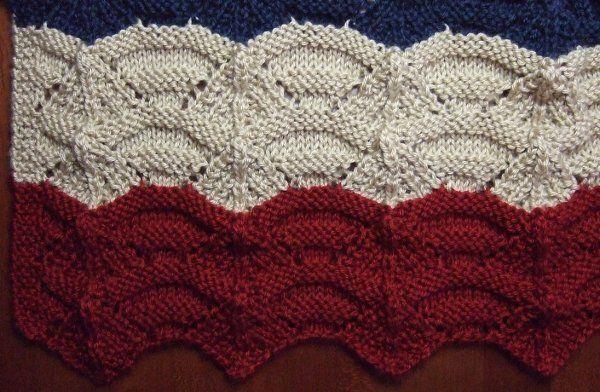 Knitting Afghan Patterns Pinterest : Free+Knitting+Pattern+-+Afghans+&+Blankets:+Carnival ...