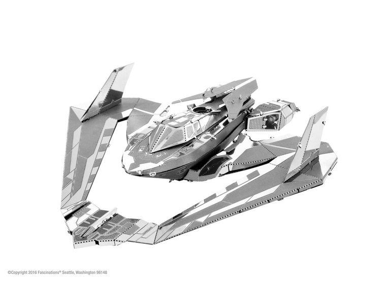 Fascinations Metal Earth Batman v Superman Batwing 3D Metal Model Kit