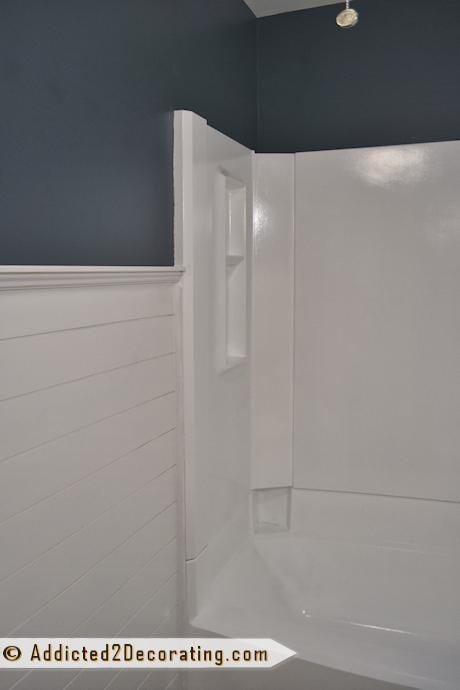 tub surround paint and tubs on pinterest. Black Bedroom Furniture Sets. Home Design Ideas