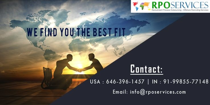 RPO Services India,a full pledged outsourcing company welcomes resumes from the experienced candidates who are up for working in a highly dynamic and energetic environment. $0 USD