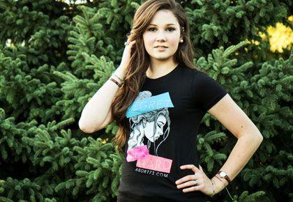 Regret Dies Hard | Abort73 Girls T-Shirt