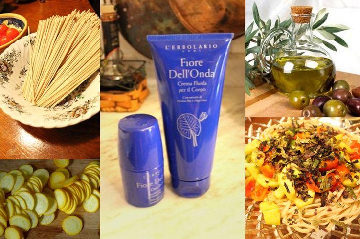 Primo Piatto - Soba con alghe nori. Ecco la ricetta: http://www.erbolario.com/ricettevegane/ricette/16-Soba_con_alghe_nori Ispirata da L'Erbolario Crema Fluida per il Corpo con estratti di Ninfea Blu e Alga Nori