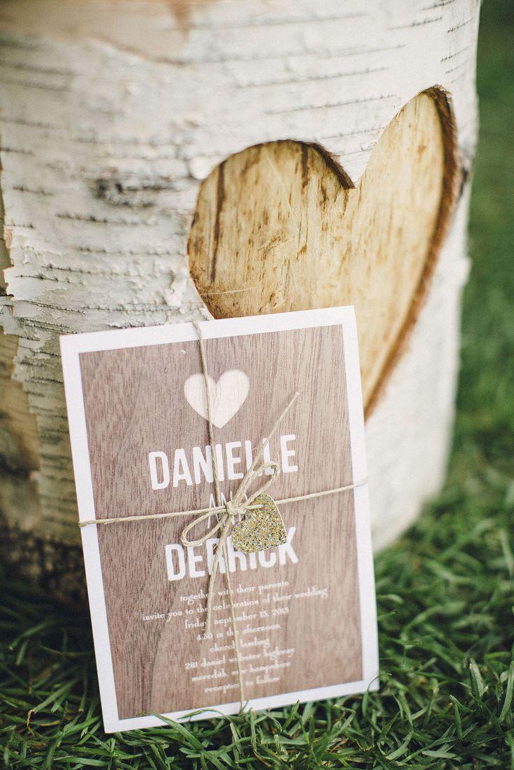 Elegant Lakeside Wedding At Mills Falls. Summer Wedding InvitationsWedding  ...