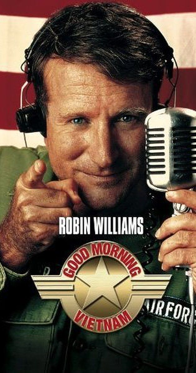 Directed by Barry Levinson.  With Robin Williams, Forest Whitaker, Tung Thanh Tran, Chintara Sukapatana. An unorthodox and irreverent DJ begins to shake up things when he is assigned to the US Armed Services Radio station in Vietnam.