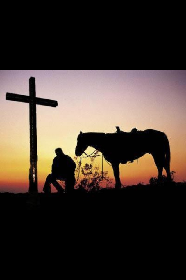 funeral picture board ideas - Christian cowboy graphy