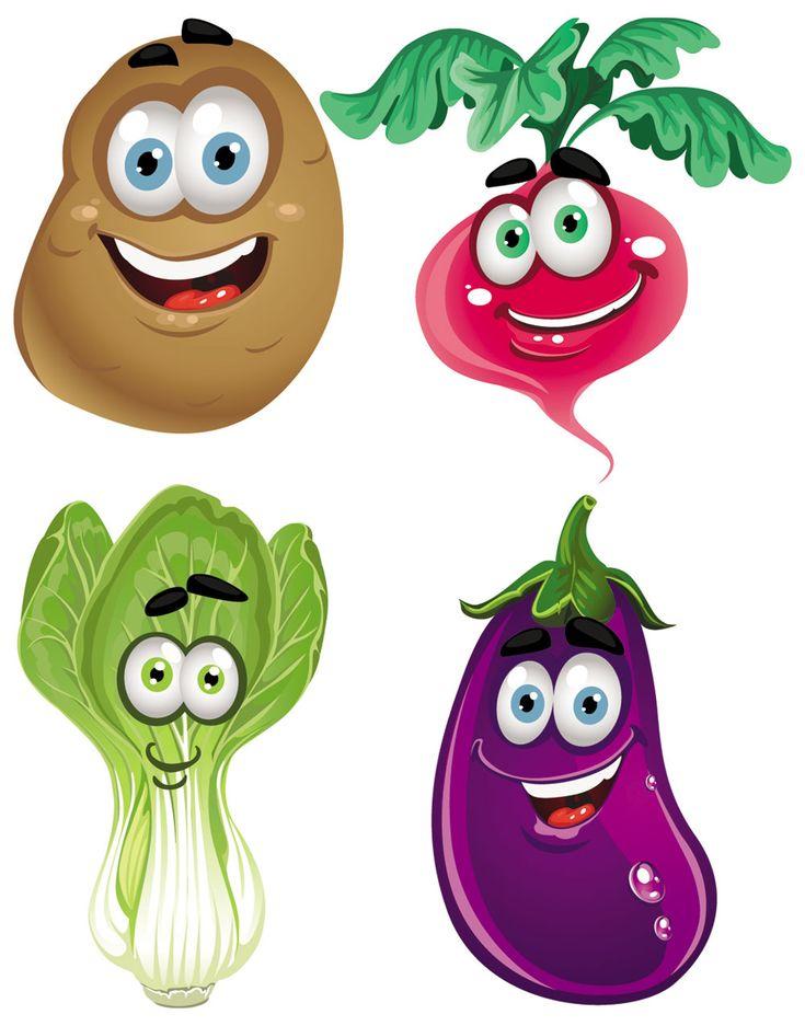 Fresh Vegetables Clip Art | cartoon free fruits vegetables tomato veggies vegetable arts drawings ...