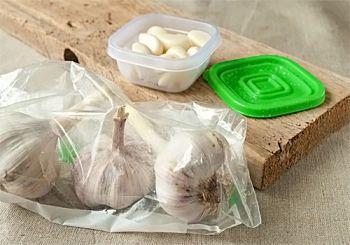 Как заморозить чеснок - рецепт с пошаговыми фото / Меню недели