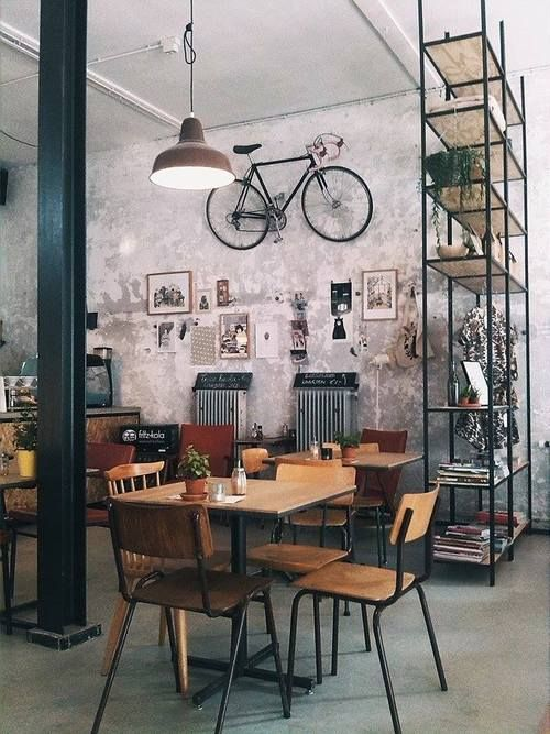 industrial chic.