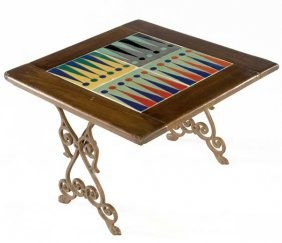 Catalina Tile Backgammon Table Ideas Pinterest