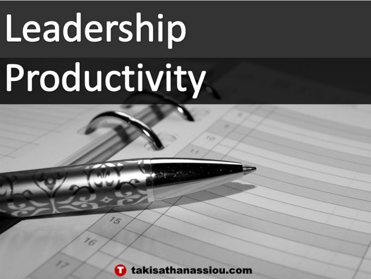 Leadership Productivity. Get your free eBook on Leadership Productivity at http://clika.pe/l/9510/43535/