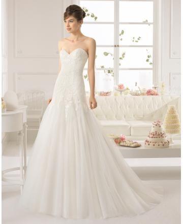 Svatební šaty s bolerkem Srdíčko Empírové Svatební šaty 2015