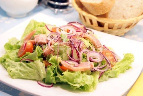 Рецепт салата гектор салаты с солёной красной рыбой