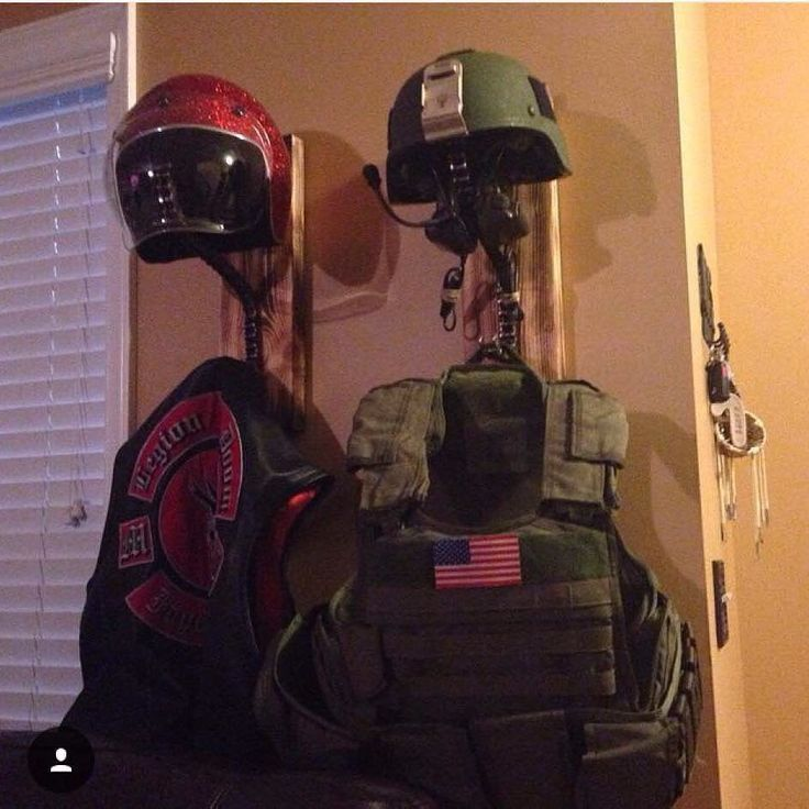 @greybeardsgarage has these Jacket  helmet wall mounts for sale go check them out! These are made to order. If there is a specific piece of lumber or finish you want just let me know. #helmetrack #coatrack #rack #stain #woodwork #weld #weldporn #gbg #greybeardsgarage @greybeard910 #chain #harleydavidson #hd #harley #motorcycle #motorcyclechain de bad_ass_official