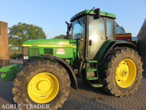 Te koop john deere 7810 bouwjaar 2002 met 10400 uur lucht remmen tractor is keurig en goed onderhouden meer info gewoon bellen deze advertentie is afkomstig van agri trader .nl