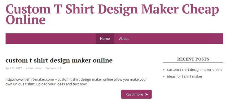 http://www.t-shirt-maker.com/ - the best custom t shirt design maker online, allow people to upload the logo and design ideas to make unique t shirts. #customtshirtmakers