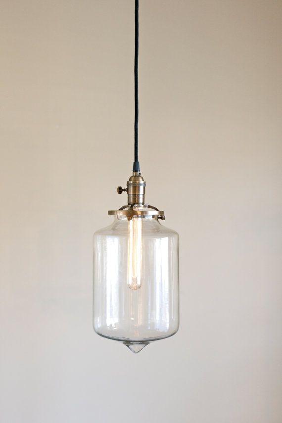40 best hand blown glass lighting pendants by oldebrick lighting clear glass pendant light fixture clear tubular sale coupon code tenpercent aloadofball Gallery